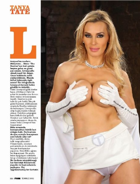 Tanya Tate  Fhm Turkey July 2013