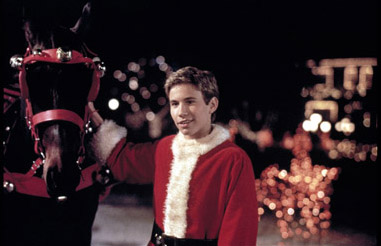 Jonathan Taylor Thomas as Jake in Disney's I'll Be Home For Christmas - 1998