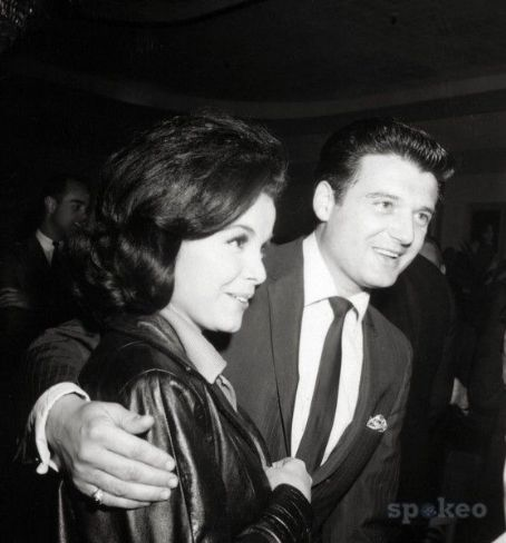 Annette Funicello and Jack Gilardi