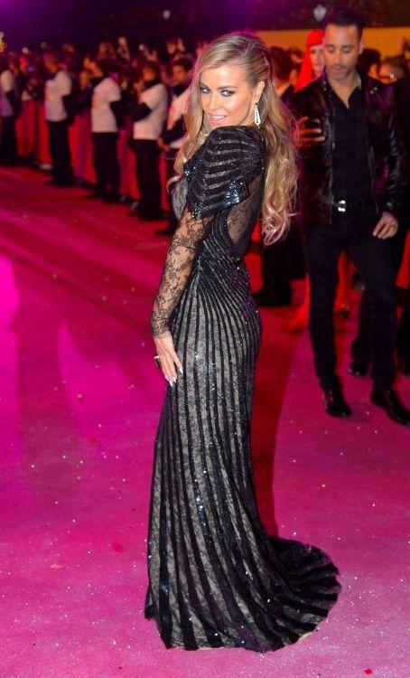Carmen Electra wears Roberto Cavalli - Life Ball 2013