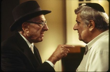 Michael Lerner Artur(Jack Klugman) makes a point with Ira Stuckman()