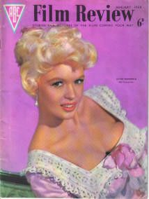 Jayne Mansfield - Film Review Magazine [United Kingdom] (January 1959)