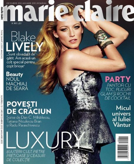 Blake Lively - Marie Claire Magazine Cover [Romania] (December 2012)