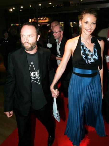 Lars Ulrich and Connie Nielsen