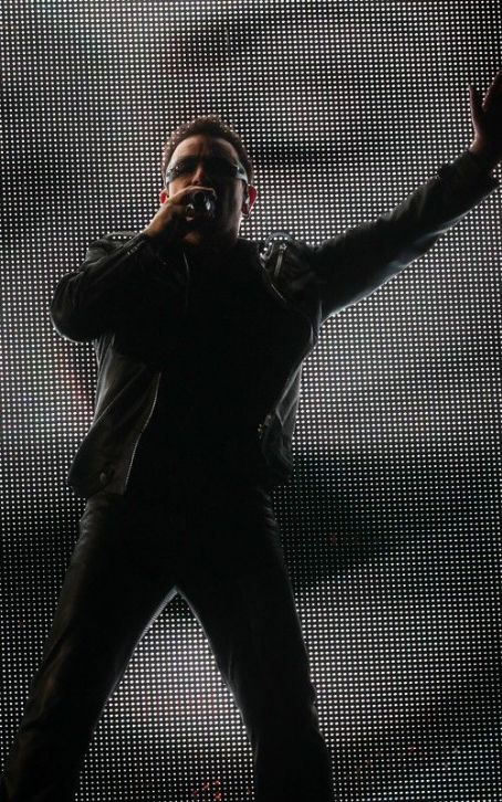 Bono - U2 Takes the Glastonbury Stage