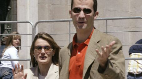 Princesa Letizia de Asturias - Crown Prince Felipe of Spain and Letizia Ortiz