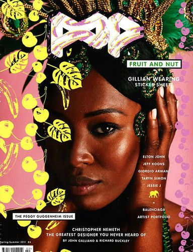 Naomi Campbell - Pop Magazine Cover [United Kingdom] (March 2011)