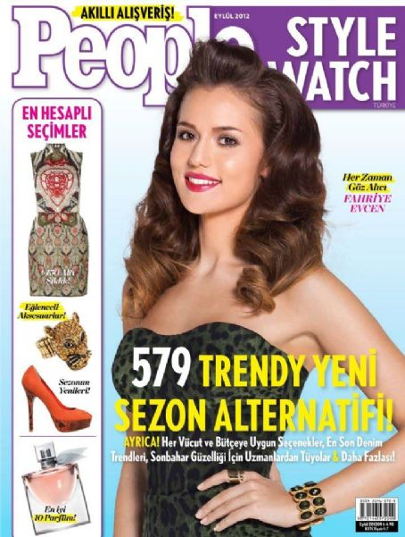 Fahriye Evcen - People Style Watch Magazine Cover [Turkey] (September 2012)