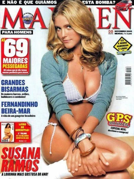 Susana Ramos - Maxmen Magazine Cover [Portugal] (November 2005)