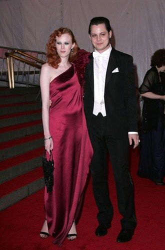 Jack White and Karen Elson