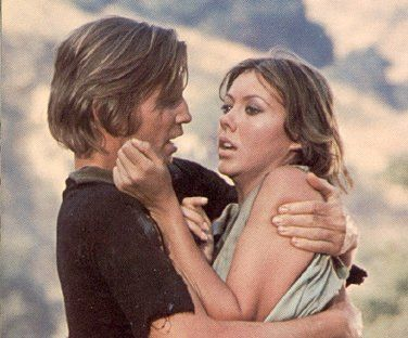 Michael York and Jenny Agutter in Logan´s Run (1976)