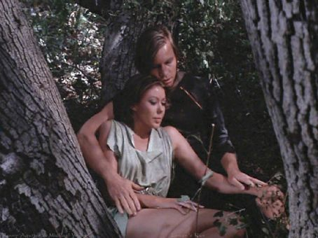 Jenny Agutter Michael York and  in Logan´s Run (1976)