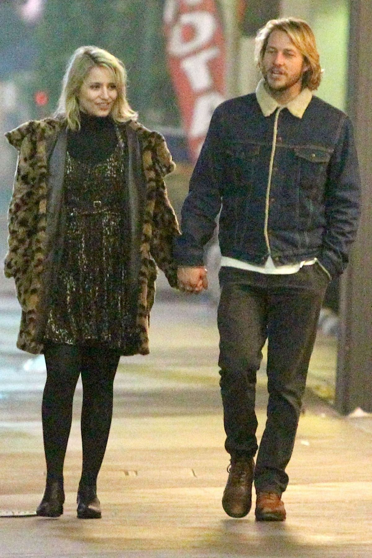 Dianna Agron And Luke Bracey Dating Gossip News Photos